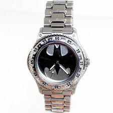 Lady Batman Fossil Warner Bros Studio Store Stainless Steel Watch Rare Only $179