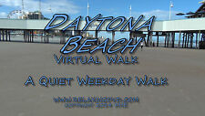 """TREADMILL WALK at DAYTONA BEACH"", Exercise, Relaxation, Travel Video, DVD"