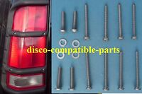 Land Rover Discovery 2 Stainless Steel Rear Lens Screws For Lamp Guards