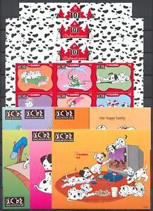 Walt Disney Gambia 2684-07 KB + Bl.339-44 ** (mnh)