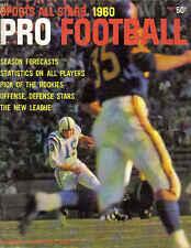 1960 Sports All Stars Pro Football magazine, Johnny Unitas, Baltimore Colts EX