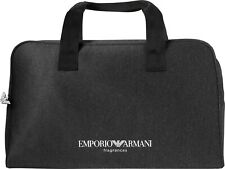 EMPORIO ARMANI DUFFLE TRAVEL GYM WEEKEND FLIGHT BAG