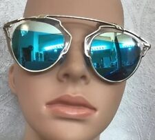 aef74c850f3 Christian Dior So Real Palladium White Sunglasses Reflective Blue Mirrored