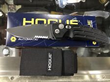 Hogue Knives EXA01 Drop Point Knife Black Benchmade 154CM Serrated 270 MSRP Usa