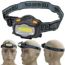 3 Mode 12 COB LED Headlamp Headlight Camping Head Torch Portable Lamp Light AAA