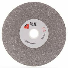 "4"" inch 100 mm Grit 80 Diamond Grinding Wheel Coated Flat Lap Disk Arbor 5/8"""