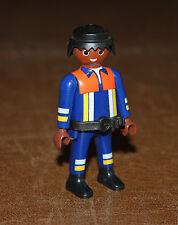 Playmobil pompiers homme afro pompier 4825