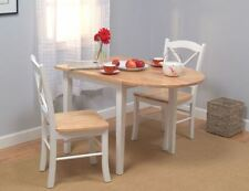 Small Kitchen Table And Chairs 2 Drop Leaf Dining Room Sets For Small Spaces