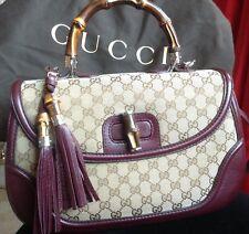 Genuine Gucci BAMBOO Top Handle Bag 240241