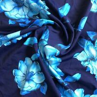 Nylon Lycra Spandex Fabric Print 4 Way Stretch by Yard
