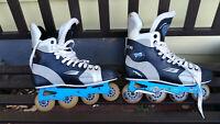 Vintage BAUER VAPOR XL Inline Hockey Skates TUUK Shifter XL  - Size 11