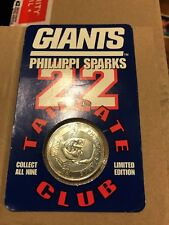 Giants Phillipi Sparks Tailgate Club Coin 1998