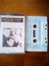depeche mode K7 audio cassette thé singles