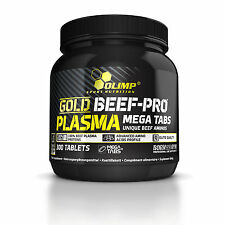 OLIMP Gold Beef-Pro Plasma Mega Tabs 300 Tablets UNIQUE BEEF AMINOS
