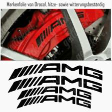 Mercedes AMG Bremssattel Sticker Aufkleber gebogen hitzebeständig C63 A45 Decal