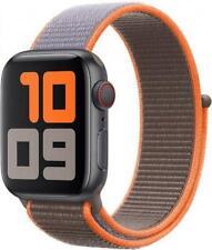 Genuine Apple Watch Nylon Sport Loop Band (42mm / 44mm) - Vitamin C - New