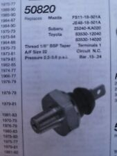 50820 oil pressure switch... MAZDA MX6 /XEDOS TOTOTA MR2 & HI LUX TRUCK