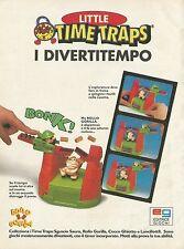 X7404 Little Time Traps i divertitempo - Pubblicità del 1996 - Vintage advert