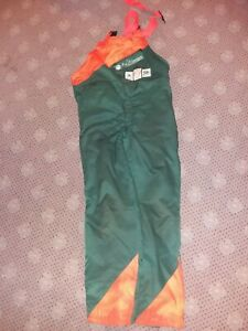 Red Mountain Outdoor Working Bib And Brace Overtrousers Size Small