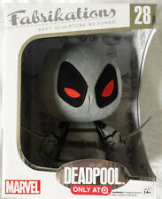 NEW Target Exclusive Gray Grey Marvel Deadpool Funko Fabrikations Plush Figure