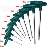 NEW T-Handle Hex Key COMBINATION ALLEN KEY HEX KEY WRENCH KEY SET 1.5mm-10mm