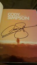 CODY SIMPSON HAND SIGNED AUTOGRAPHED BOOK - THE TIDE - ALLI - DANCING WITH STARS