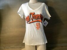 Women's Genuine Merchandise Medium San Francisco Giants TEE Short Sleeves NEW