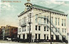 GALION OHIO VIEW OF OPERA HOUSE USED 1908