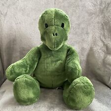 "Build a Bear Workshop 17"" Trekkin' Green Turtle Plush Stuffed Animal No Shell"