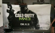 XBox Call of Duty Monster Size Absolute Original one of  3.2mts x 1.5mts fabric