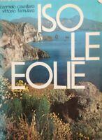 Isole Eolie  di Carmelo Cavallaro, Vittorio Famularo,  1977 - ER