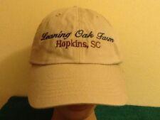 e0d19ac7 LEANING TREE FARMS, Hopkins, SC Adjustable Ball Cap Hat, Cursive Writing!