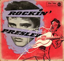 "7"" Elvis Presley – EP: Rockin' Presley / RCA EPA 9500 // Germany 1956"