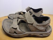 Columbia Mens Adjustable Sport Sandals Casual Gray US Size 7 BM4474-250