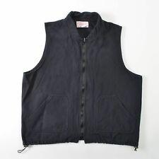 CC Filson 151 Moleskin Vest Jacket Liner Gray Vintage USA Mens XL