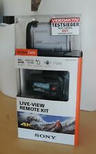 Sony Actioncam FDR-X1000VR 4K Live-View remote Kit Waterproof