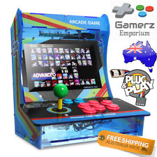 "Arcade Machine Bartop 10.4"" HD LED Acrylic Retro Game Desktop 1299 in 1"
