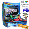"Arcade Machine Bartop 10.4"" HD LED Acrylic Retro Game Desktop 1299 in 1"