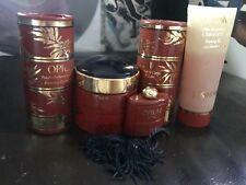 Vintage Opium by Yves Saint Laurent Set: Perfume, Powder, Foam, Cream