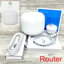 New Google Nest AC2200 H2D 4x4 WiFi Router Dual Band Mesh System 2200 sqft Snow
