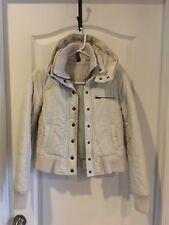 H & M women fashion jacket winter size 2 White