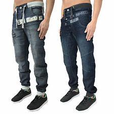 Enzo Jeans Cuffed, Jogger for Men