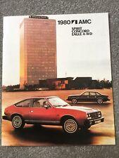 1980 AMC SPIRIT CONCORD EAGLE 4-WD Brochure