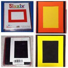 Sizzix Die Frame Rectangle Originals Photo Album Scrapbook Diecut Retired NEW