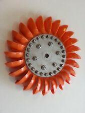 Turgo Wheel - Orange Spoon
