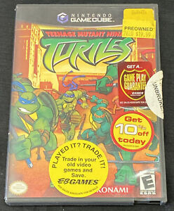 Teenage Mutant Ninja Turtles (Nintendo GameCube, 2003) - Complete