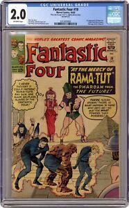 Fantastic Four #19 CGC 2.0 1963 0353830002