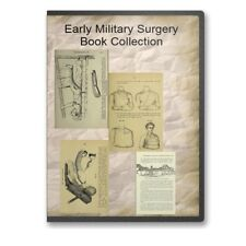 Early Military Surgery Book Collection Battlefield - 30 Historic Books CD - B511