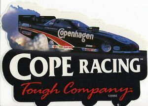 Cope Racing Tough Company NHRA Funny Car Decal Ron Capps Don The Snake Prudhomme