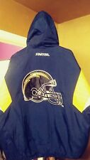 Nfl San Diego Chargers Throwback Pullover Starter Jacket Large New! La